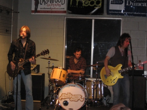 The Steepwater Band at Fat Tone Guitars