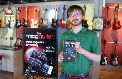 moog music moogerfooger at Fat Tone Guitars