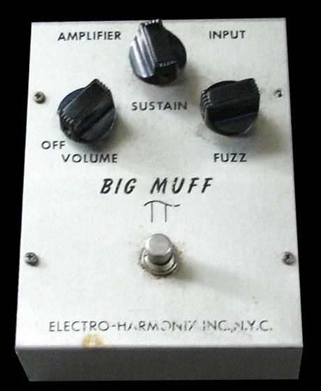 EHX Triangle Big Muff effect pedal